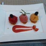 glace trois fruits