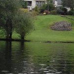 Close up view of the lovely properties surrounding the lakes