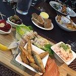 Sharing fish board