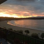 St Brelades Bay at dawn.....not bad for the 8th of October