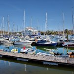 Lymington harbour; 2 minutes away