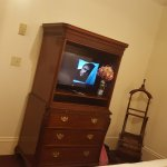TV in the bedroom