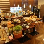 Part of the excellent buffet
