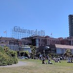 Front view of Ghirardelli Ice Cream & Chocolate Shop