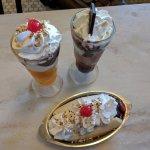 Golden gate, Painted ladies & Banana split - Ghirardelli Ice Cream & Chocolate Shop