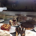 You won't be disappointed with main courses but the deserts are so big and tasty that you may ne