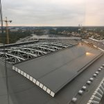 View from 23rd floor towards Friends Arena