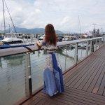 broad walk looking at the sails