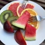 Ein Fruchtteller für 2 Personen