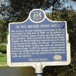 West Montrose Bridge sign