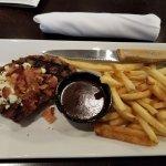 Steak and Bahama mama!