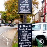 Good  roast Sunday lunch offerings,  beef, pork or chicken