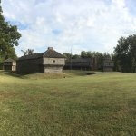 Fort Massac as seen from the river.
