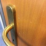 Suciedad de la puerta