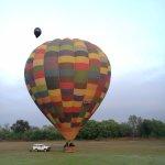 Bill Harrop's early morning balloon trip