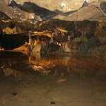 All photographs taken in the main large cave. Stalagmites and stalactites come in various sizes.