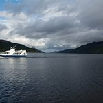 View from Fort Augustus down Loch Ness