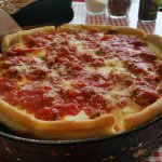 "The ""Chendo"" deep dish pizza, Excellent!"