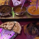 Our lovely food at Chandpur Indian Restaurant