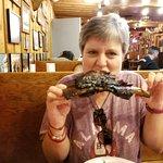 Lynn's first beef rib