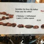 € 2,90 für selbstgebrauten Kaffee!