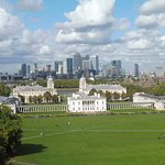 View across river from the Royal Observatory.