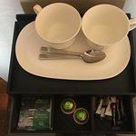 Beautiful tea making facilities