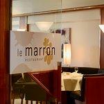 le marron Restaurant-Menden (Sauerland) - Innenraum - Blick in das Restaurant
