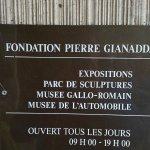 Musée, parc musée, restaurant musée, la culture est partout. En pleine vallée du Rhône,!