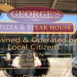 Sign to George's Pizza & Steak House