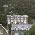beautiful houses on the hillside
