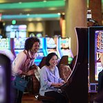 Grab some friends or meet new ones when you sit down at one of the hottest machines around.