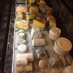 Dutch cheese selection