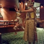 Dancing Show at dinner.