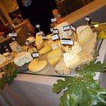 le grandiose plateau de fromage