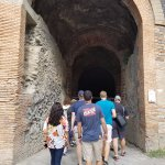 Arch to amphitheater