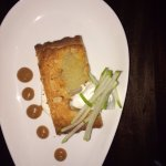 Almond and Pear Galette