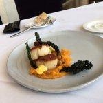 Delicious top dish: scallops