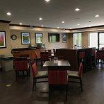 Newly renovated breakfast area