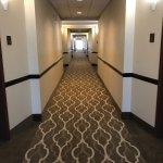 Newly renovated hallways