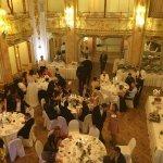 The reception arrangements