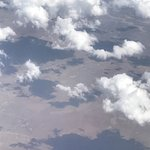 Cloud-and-shadow play over the hot Northern Cape