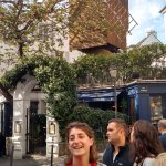 Our guide, Elise, telling about Montmartre