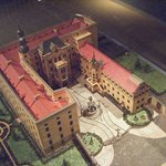 maquette du château de Dessau avant 1945