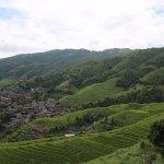 hiking above/around Longhji Rice Terraces/Pingan Village