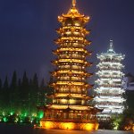 Night Boat ride/shows In Guilin