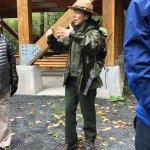 Our ranger guide.