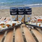 Sushi at the Beach!!!