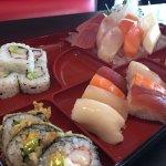 Bento Box Sushi Sashimi Combo