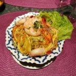 Salade de mangue verte aux crevettes